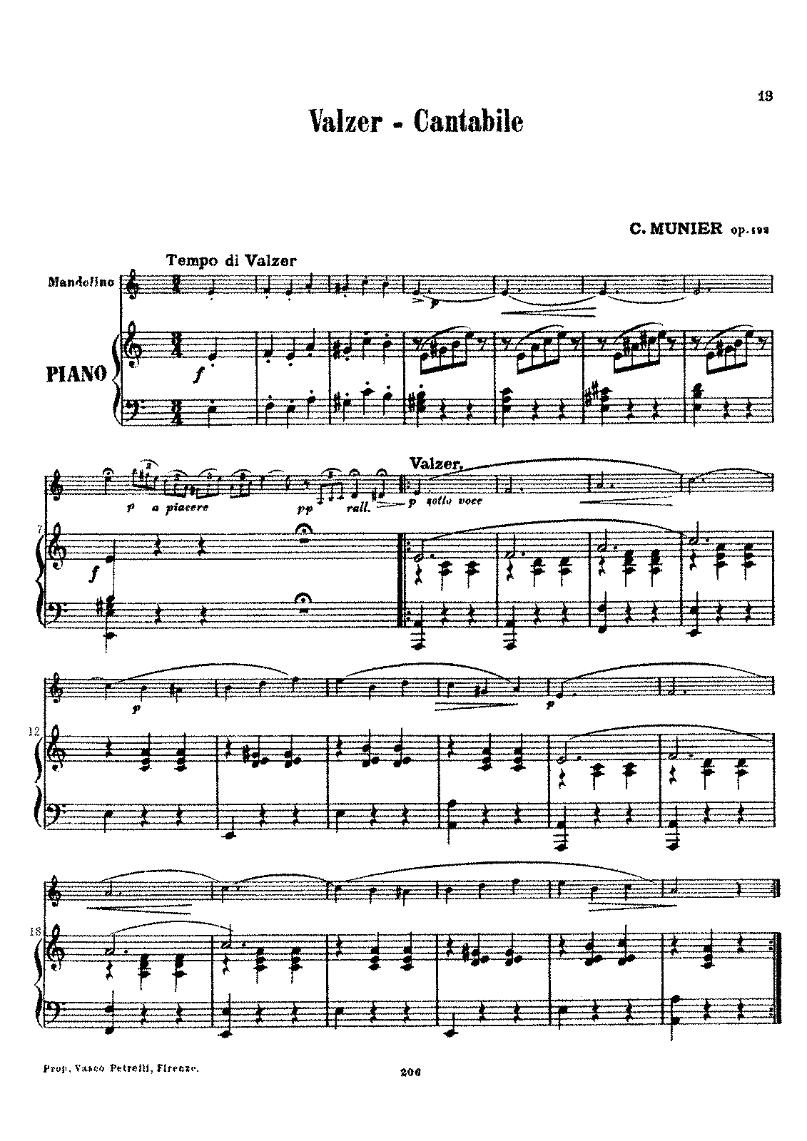 PMLP656846-Valzer - Cantabile, Nelly Album Ⅲ.Valzer - Cantabile Op.192 C.Munier Pianoforte part.pdf