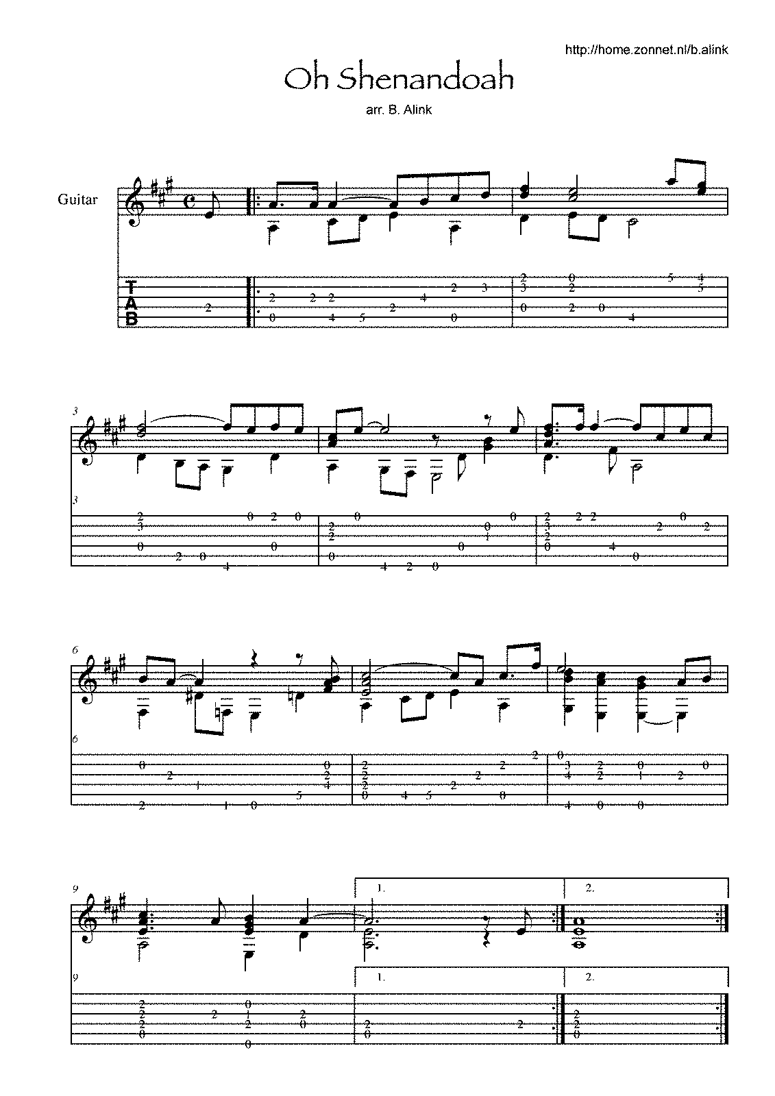 Sites that offer free sheet music