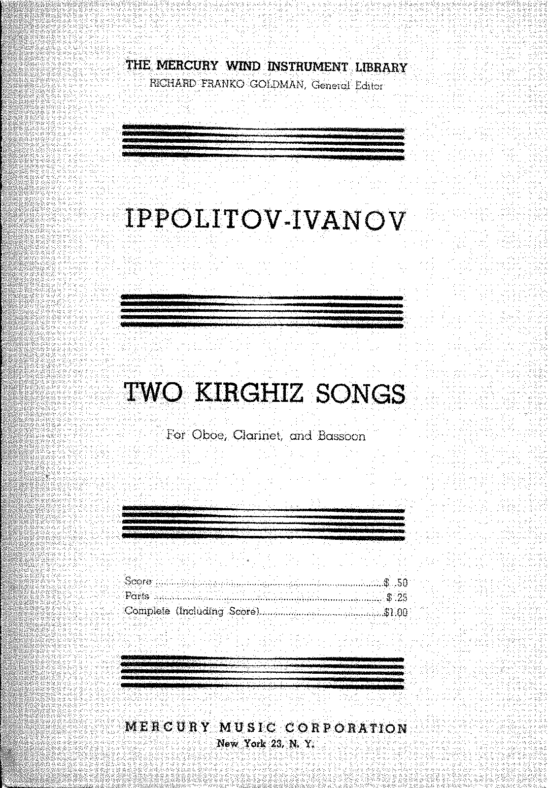 PMLP416948-Mikhail Ippolitov-Ivanov - Two Kirghiz Songs for Oboe, Clarinet and Bassoon (Score).pdf