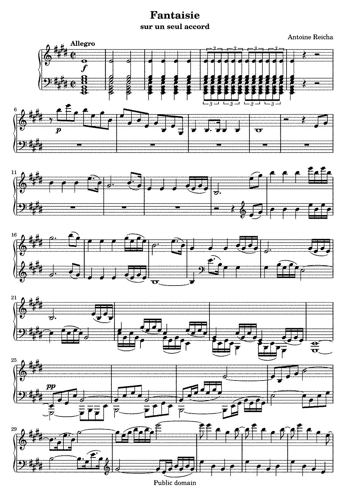 Practische Beispiele (Reicha, Anton) - IMSLP/Petrucci Music Library ...