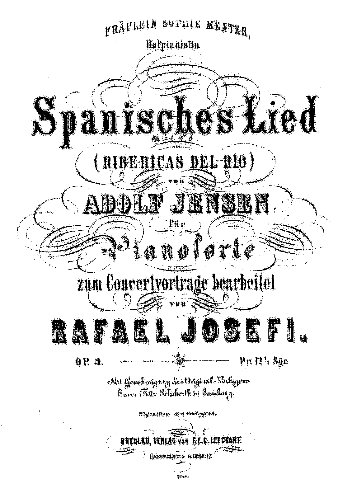 PMLP25298-Joseffy - Transcription - Jensen - Spanisches Lied op 3.pdf