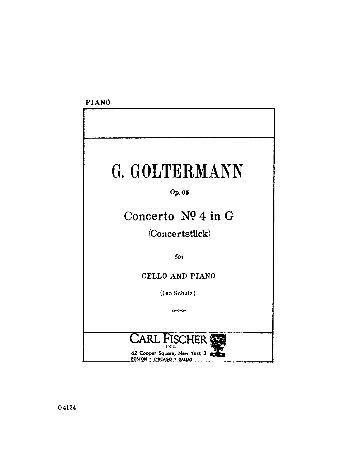 PMLP44344-Goltermann - Cello Concerto No4 in G Op65 (Schulz) piano.pdf