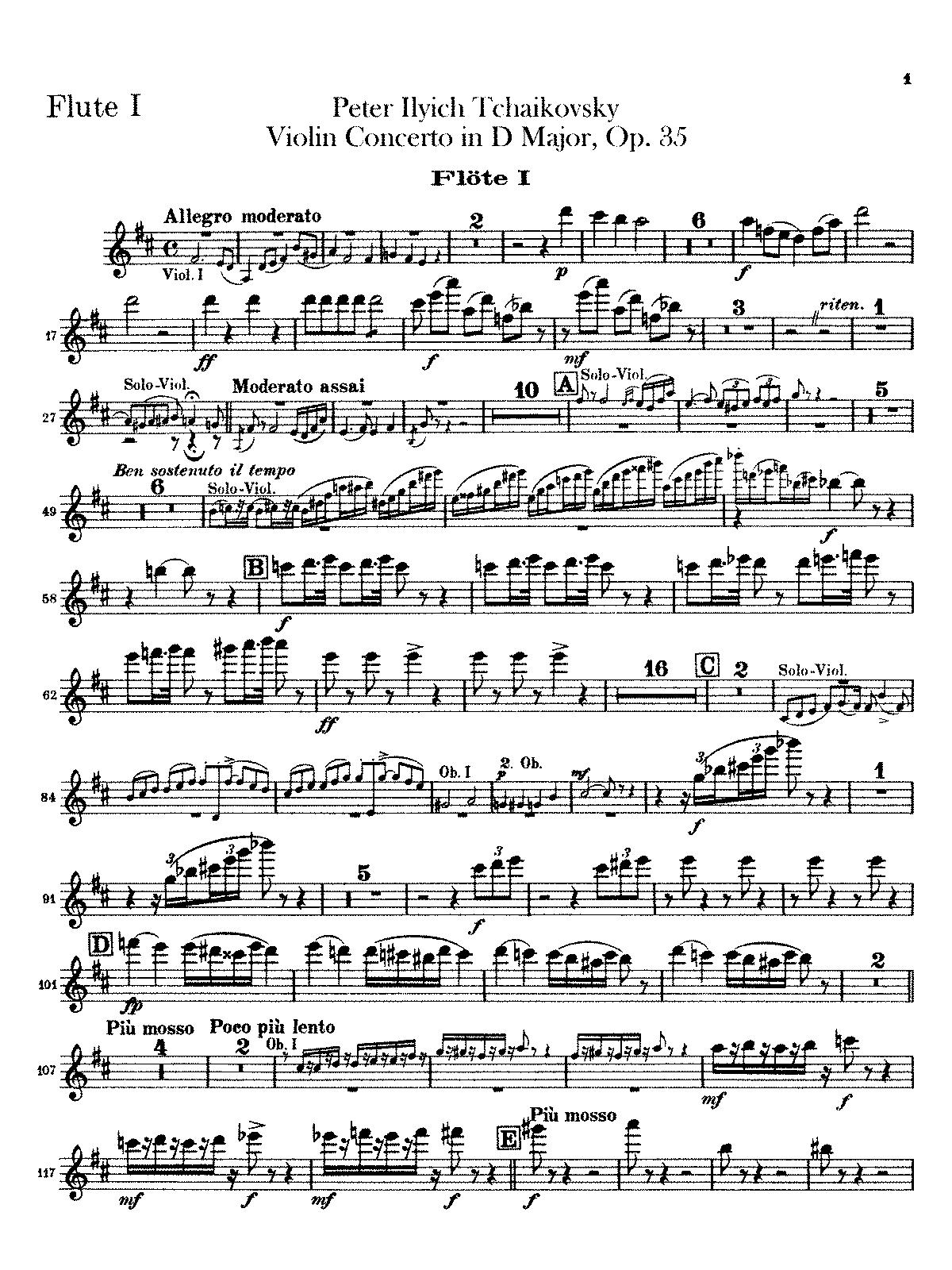 Tchaikovsky Symphony Violin Part Keyword Data - Related