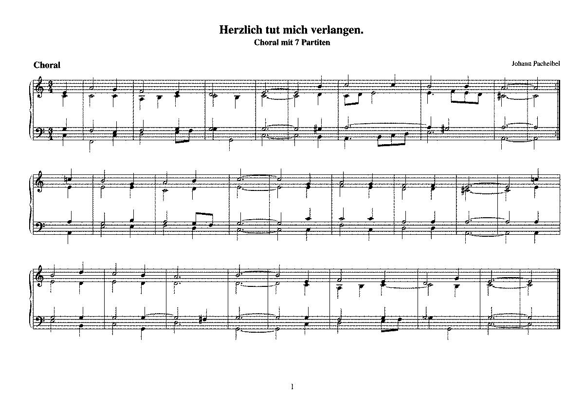 Pachelbel non-canone