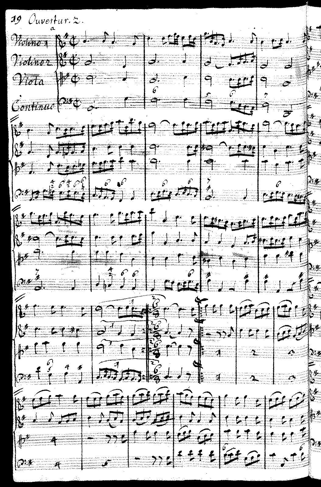 J.B.Bach, Suite in G
