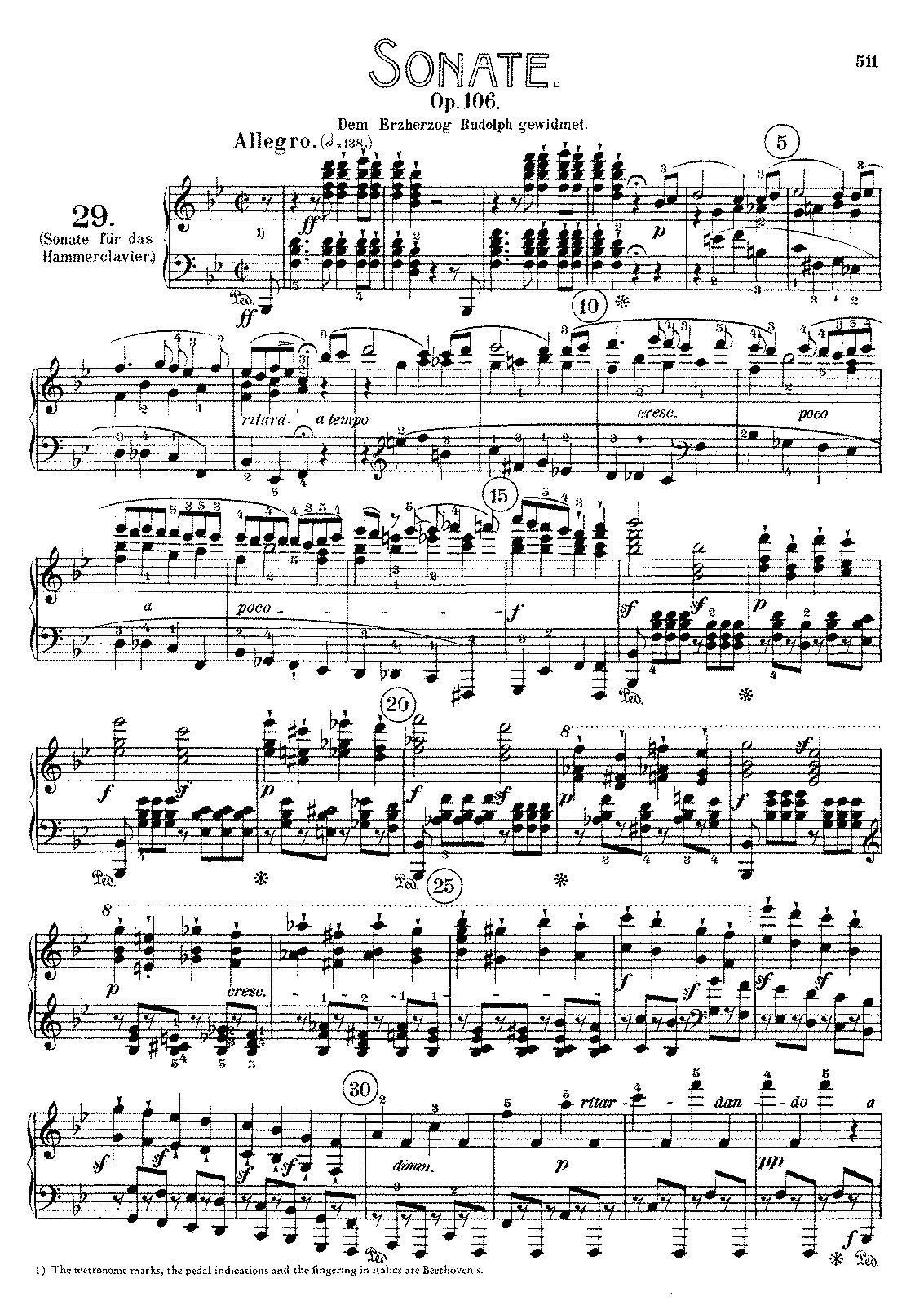 Beethoven Tempest Sonata 3rd Movement Pdf Editor