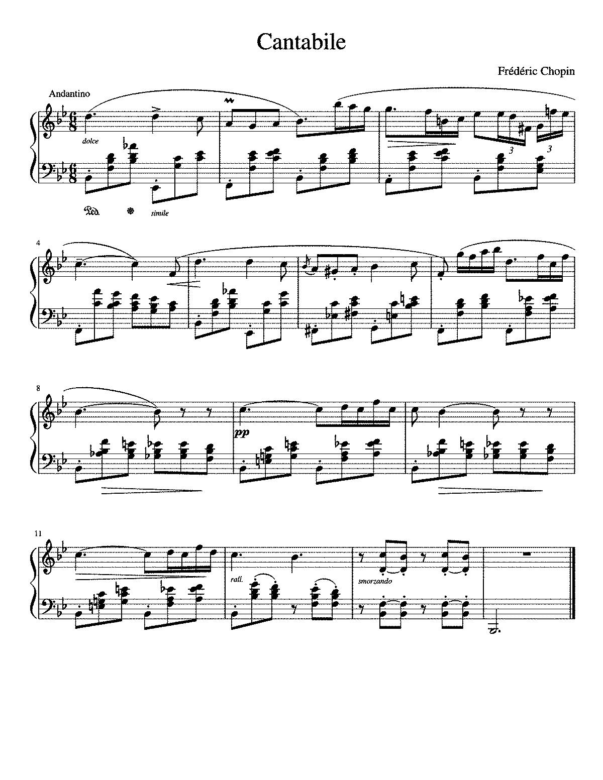 nocturne in d flat major chopin pdf