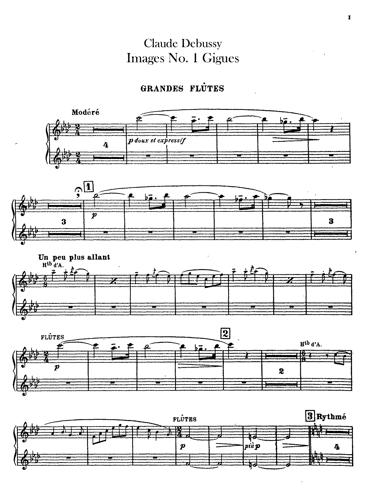 Debussy images book 1 imslp rachmaninoff