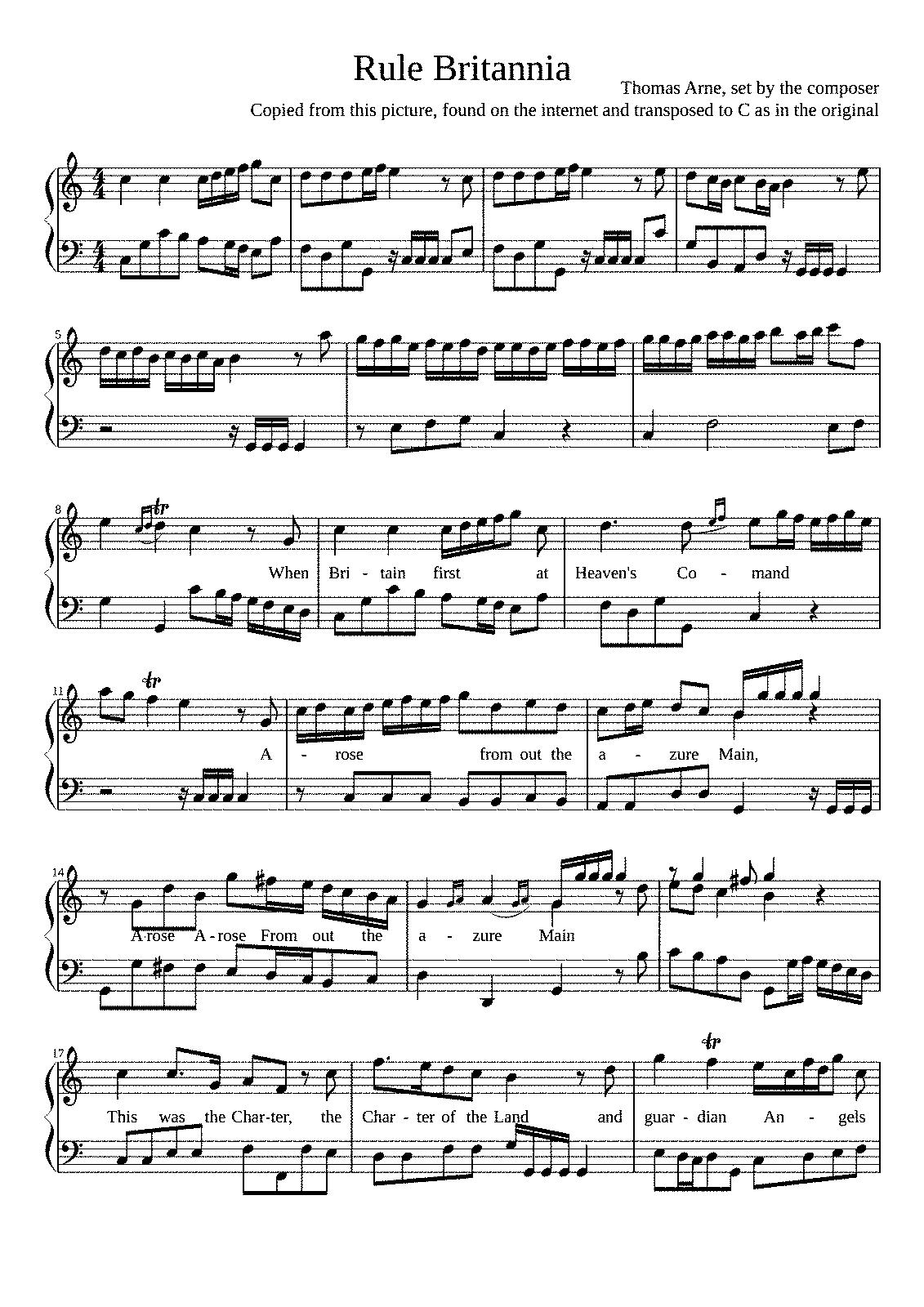 composer of rule britannia - HD1131×1600