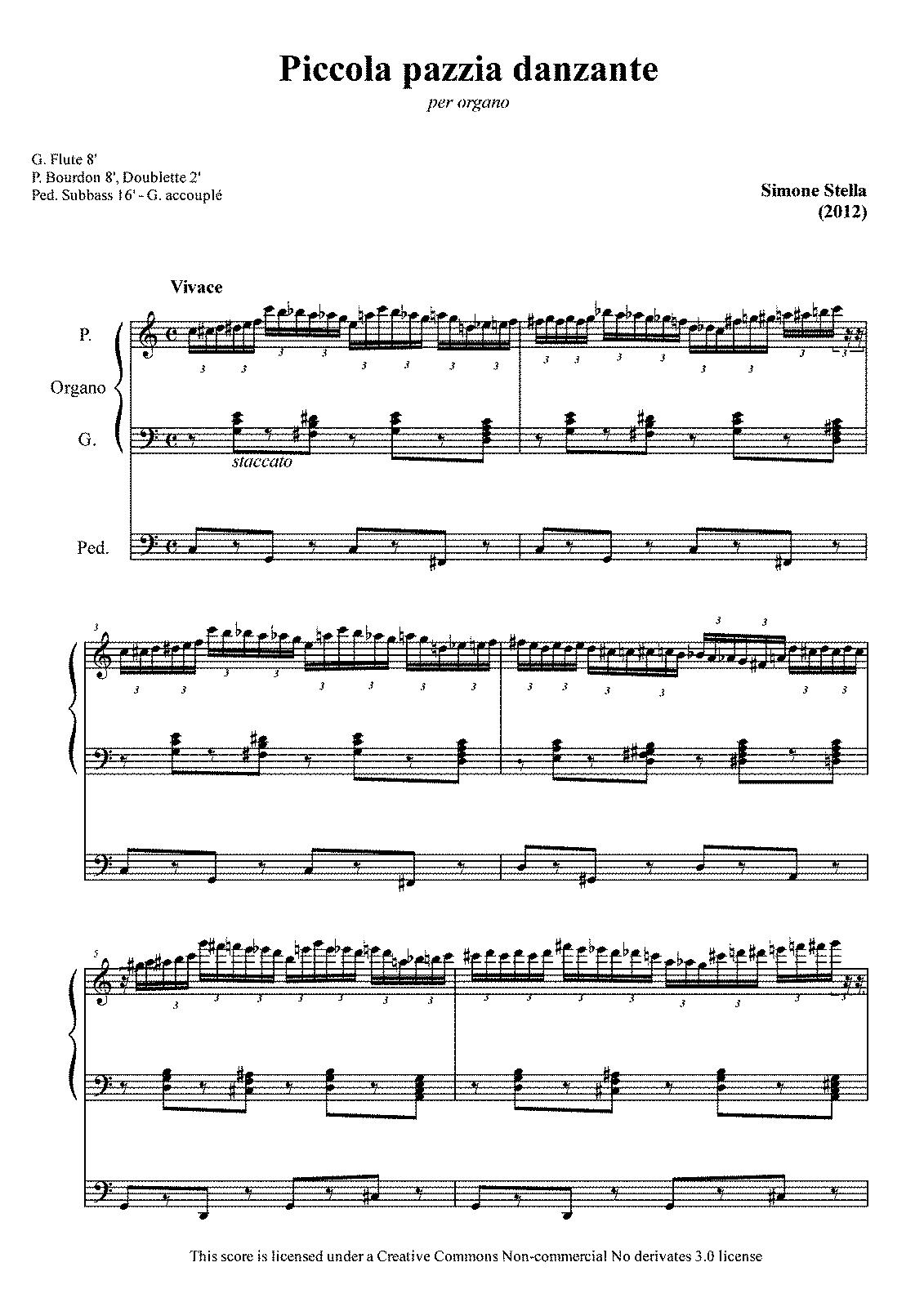 Piccola pazzìa danzante (Stella, Simone) - IMSLP/Petrucci