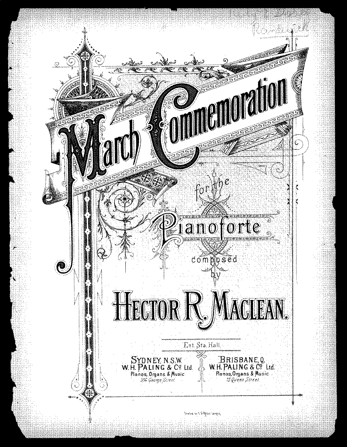 March Commemoration (MacLean, Hector Roderick) - IMSLP/Petrucci