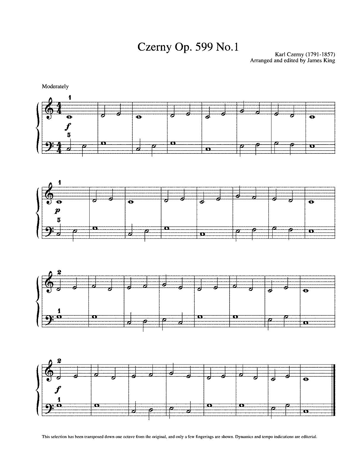 Workbooks violin note reading worksheets : Practical Exercises for Beginners, Op.599 (Czerny, Carl) - IMSLP ...