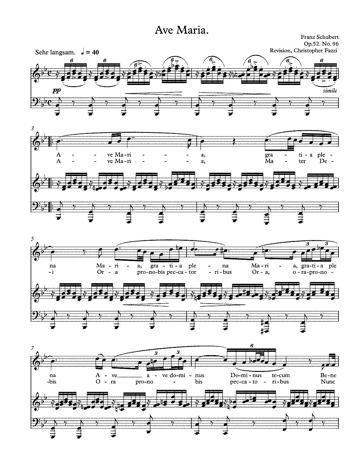 partituras gratis piano