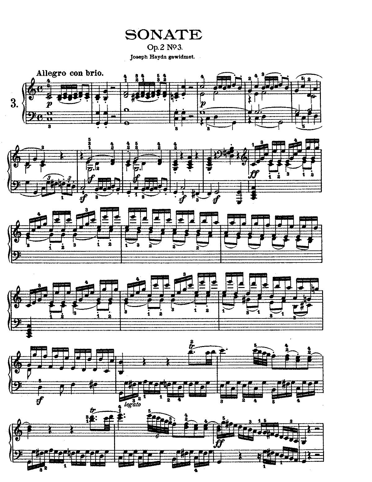 Piano Sonata No. 7, Op. 10 no. 3 (Beethovens Werke, Serie XVI)