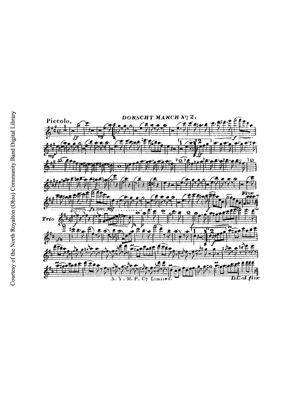 Dorscht March No 2 (Wiegand, George) - IMSLP/Petrucci Music
