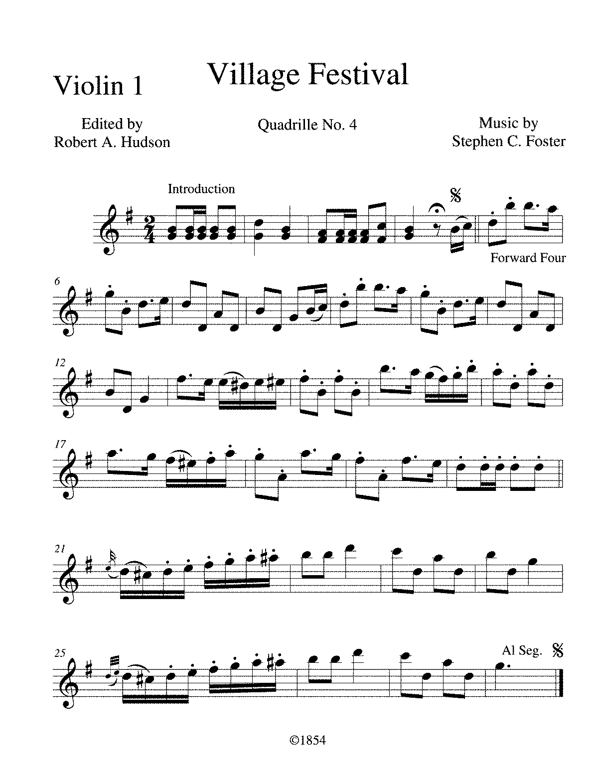 File:PMLP395487-Village Festival Quadrille No 4 - 001 Violin 1 pdf