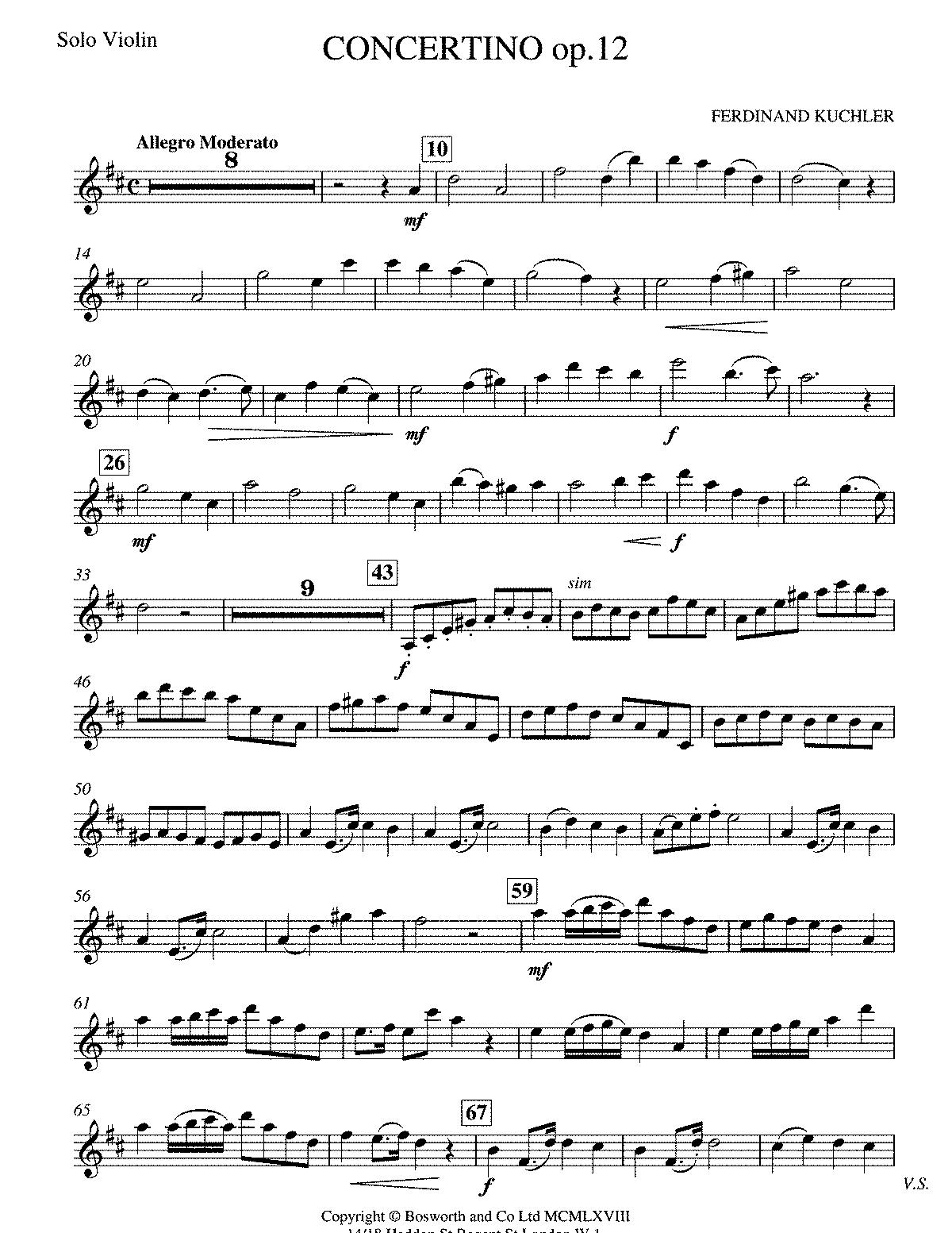о ридинг концертино в венгерском стиле ноты