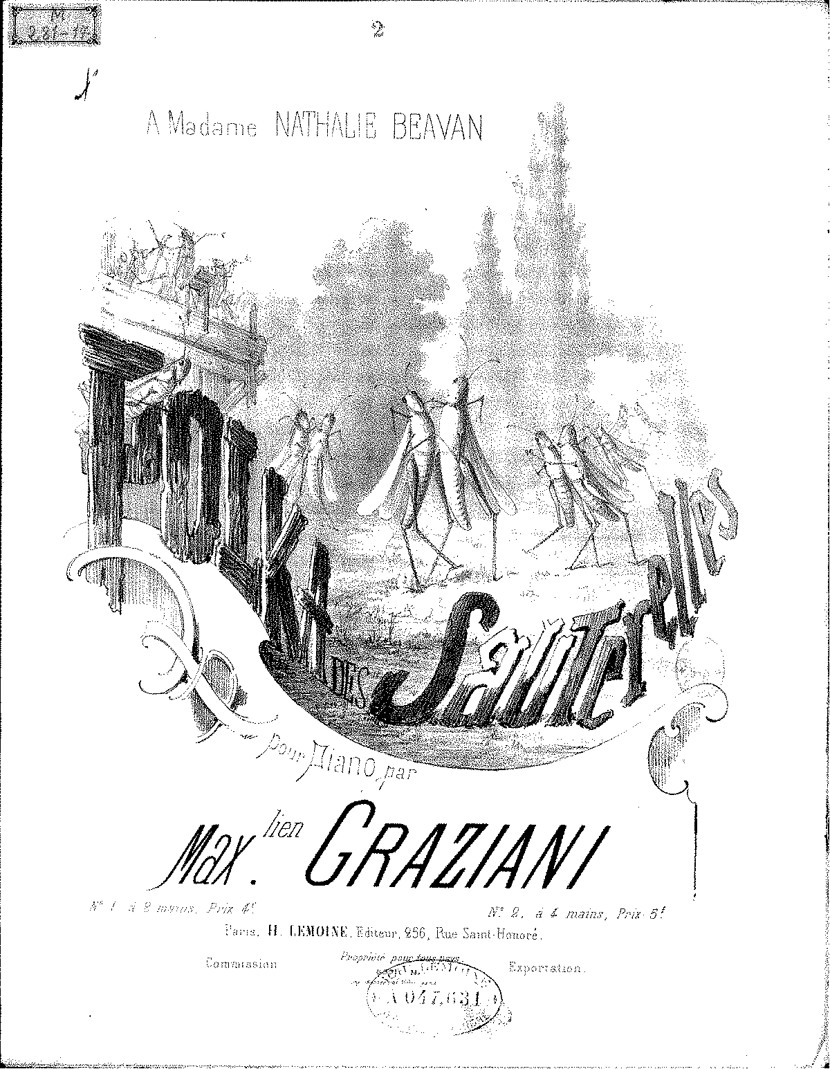 Polka des sauterelles (Graziani, Maximilien) - IMSLP