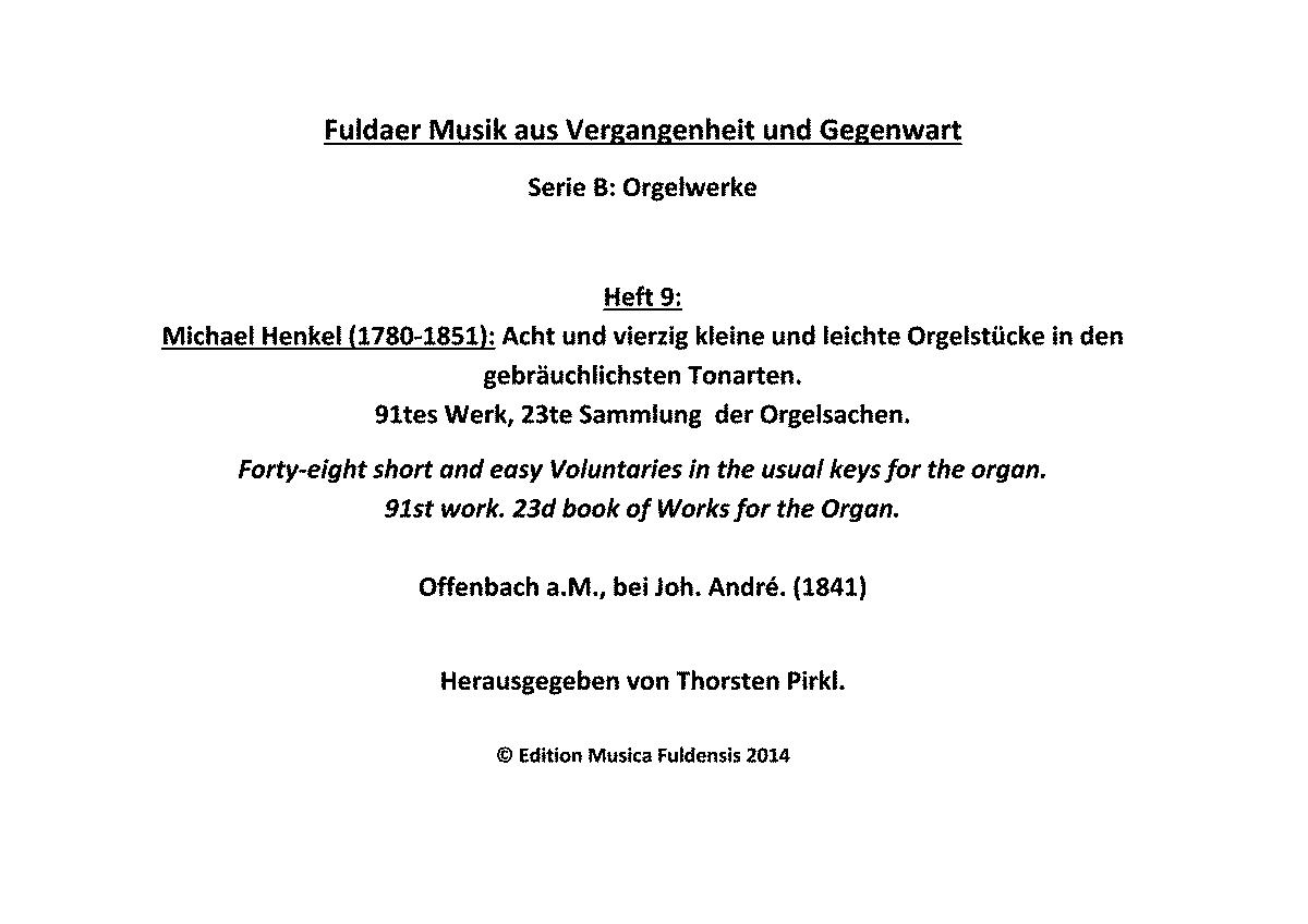 Leichte Orgelstücke Pdf