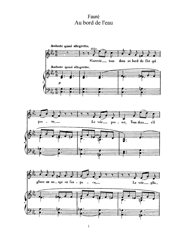 Geliefde File:PMLP54682-Fauré - Au bord de l'eau, Op. 8, No. 1 (c).pdf  @KL29