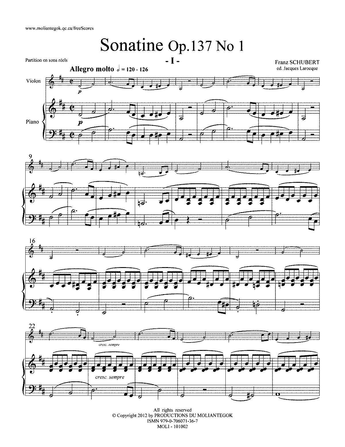 Schubert: Sonates pour pianoforte & violon