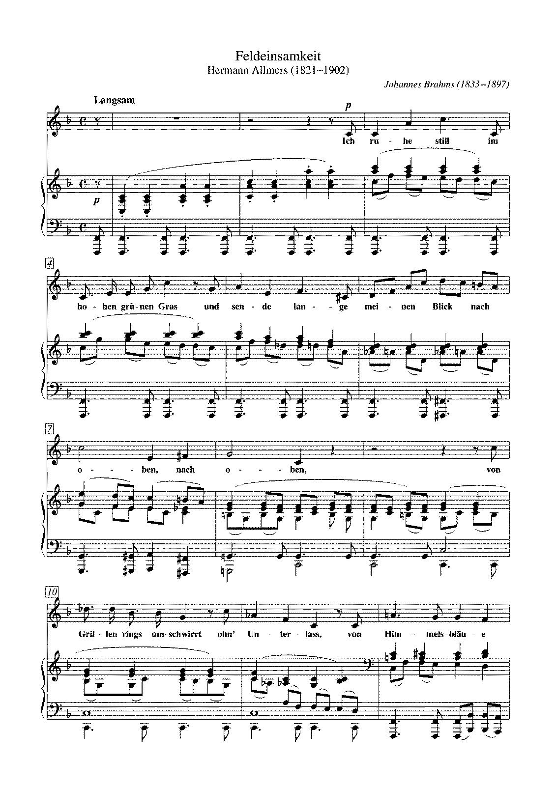 volkslieder noten und texte kostenlos