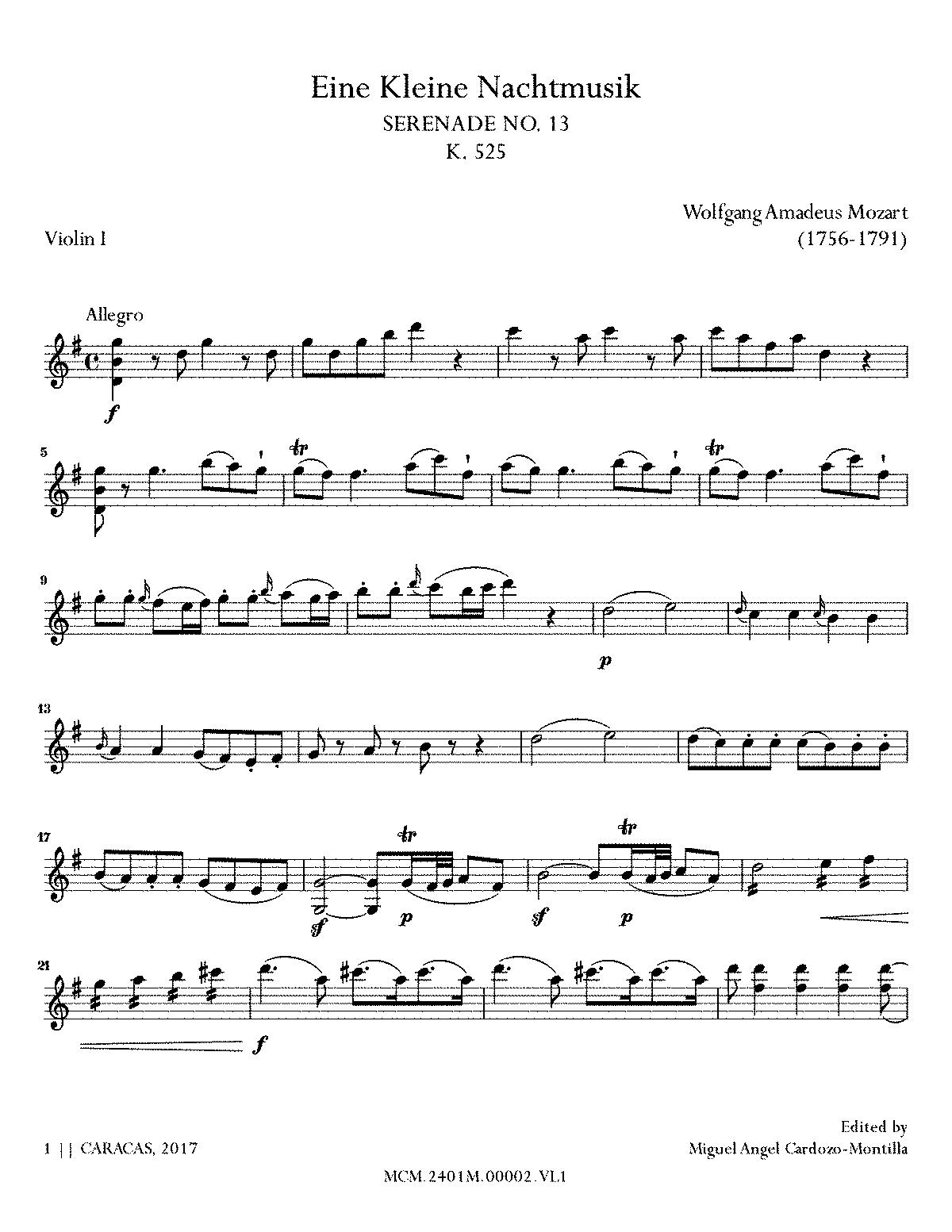 die kleine nachtmusik