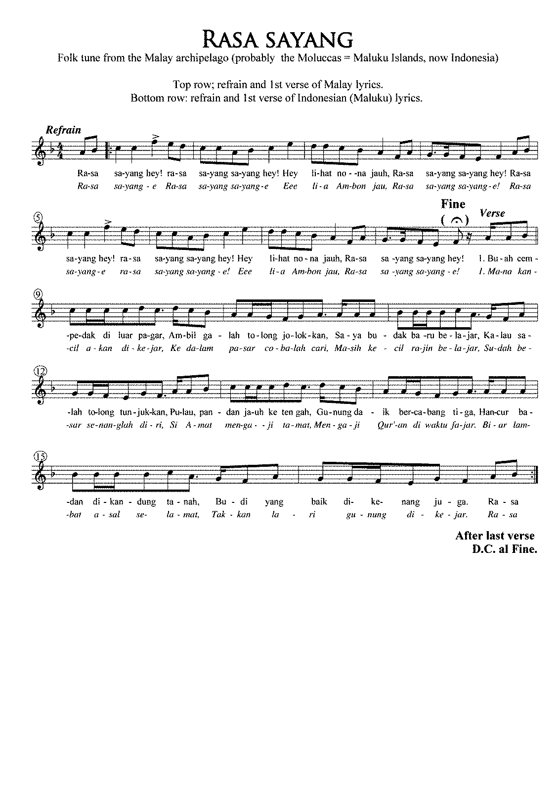 Sheet Music With Letters Instead Of Notes Free