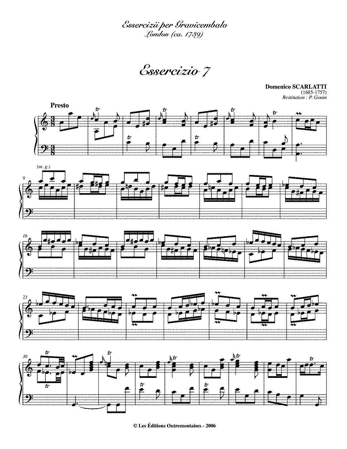 Scarlatti K 7