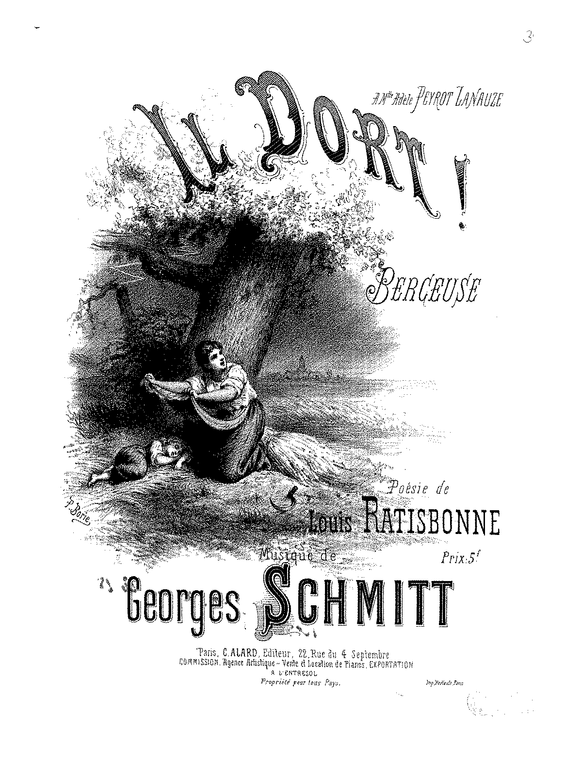 Il dort (Schmitt, Georges) - IMSLP/Petrucci Music Library: Free