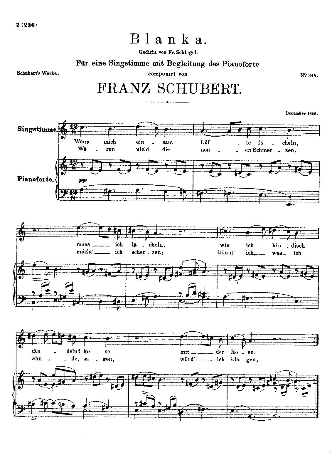 Blanka, D.631 (Schubert, Franz) - IMSLP/Petrucci Music Library: Free ...