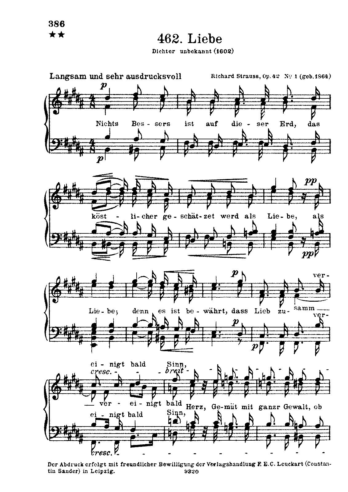 2 Männerchöre, Op 42 (Strauss, Richard) - IMSLP/Petrucci