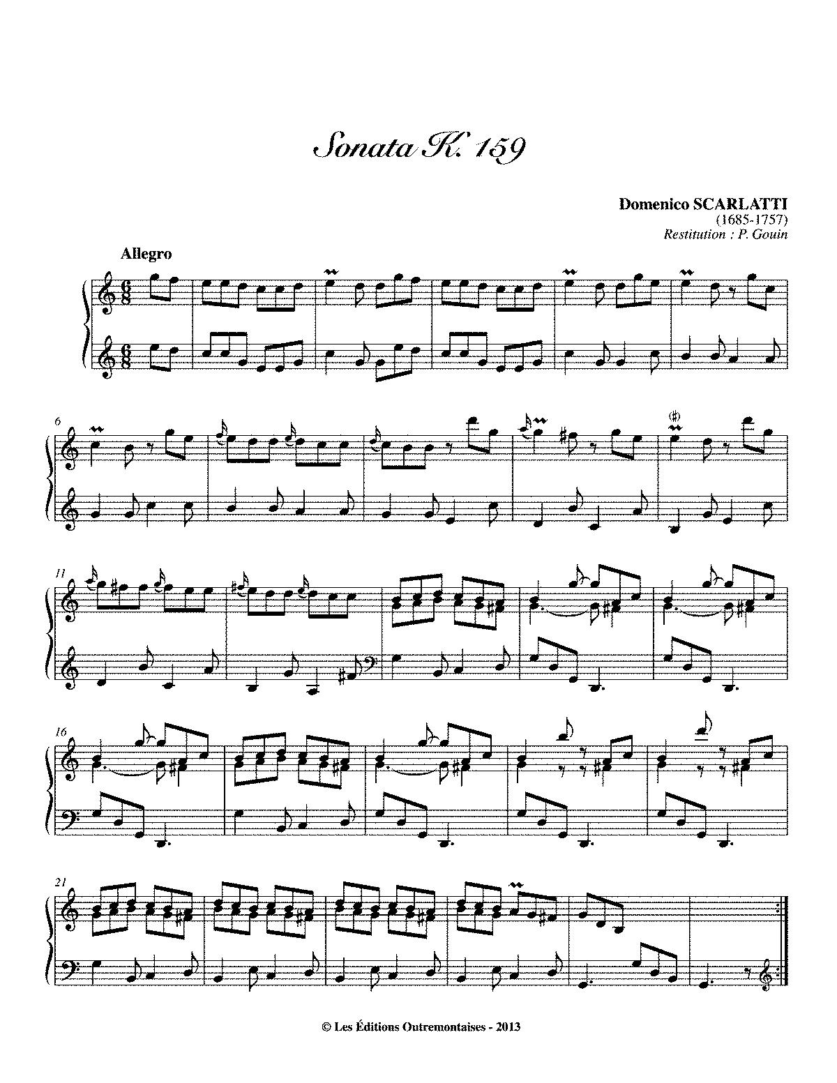 Scarlatti K 159