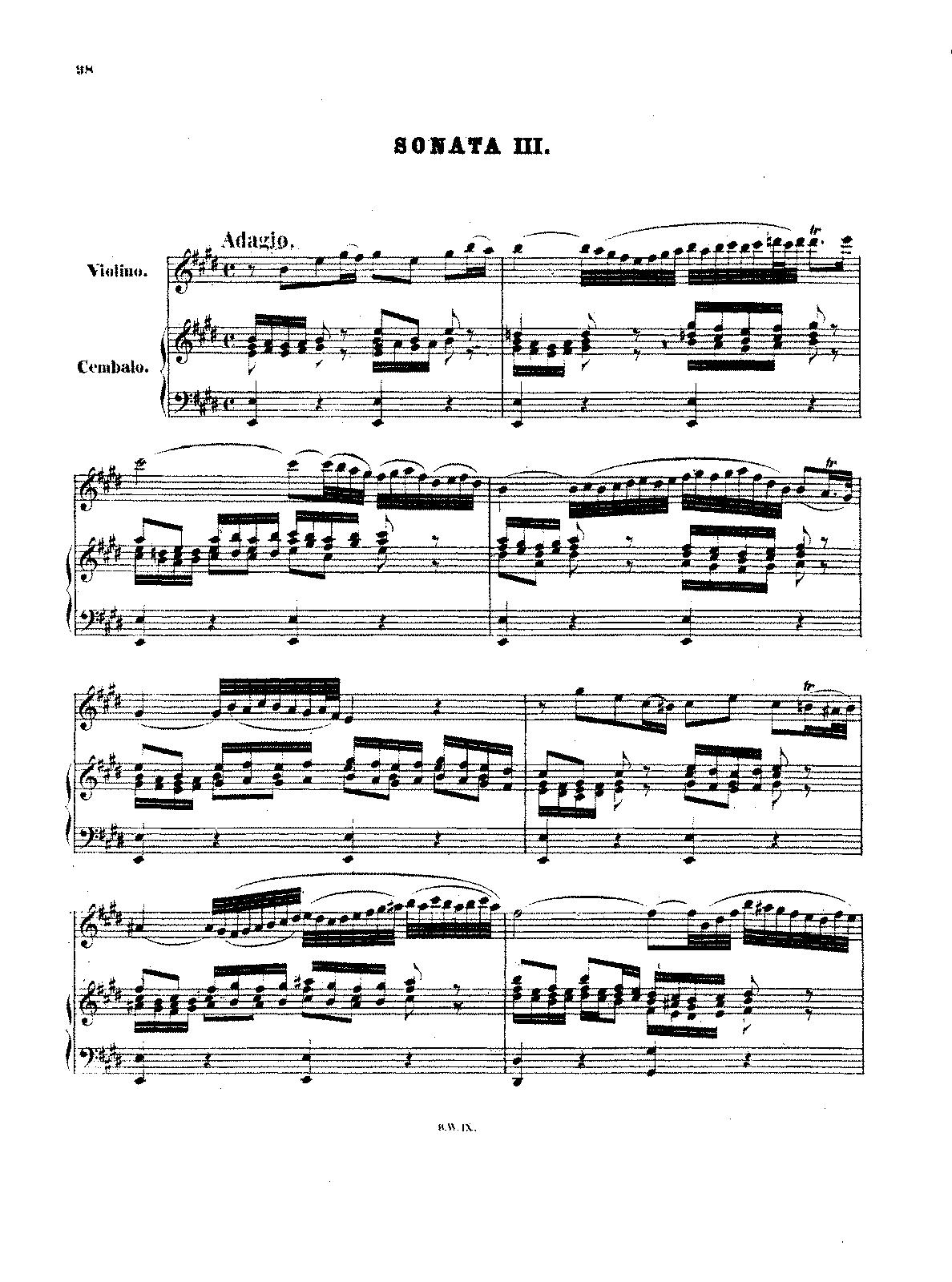 Bach Violin Concerto In E Major Imslp