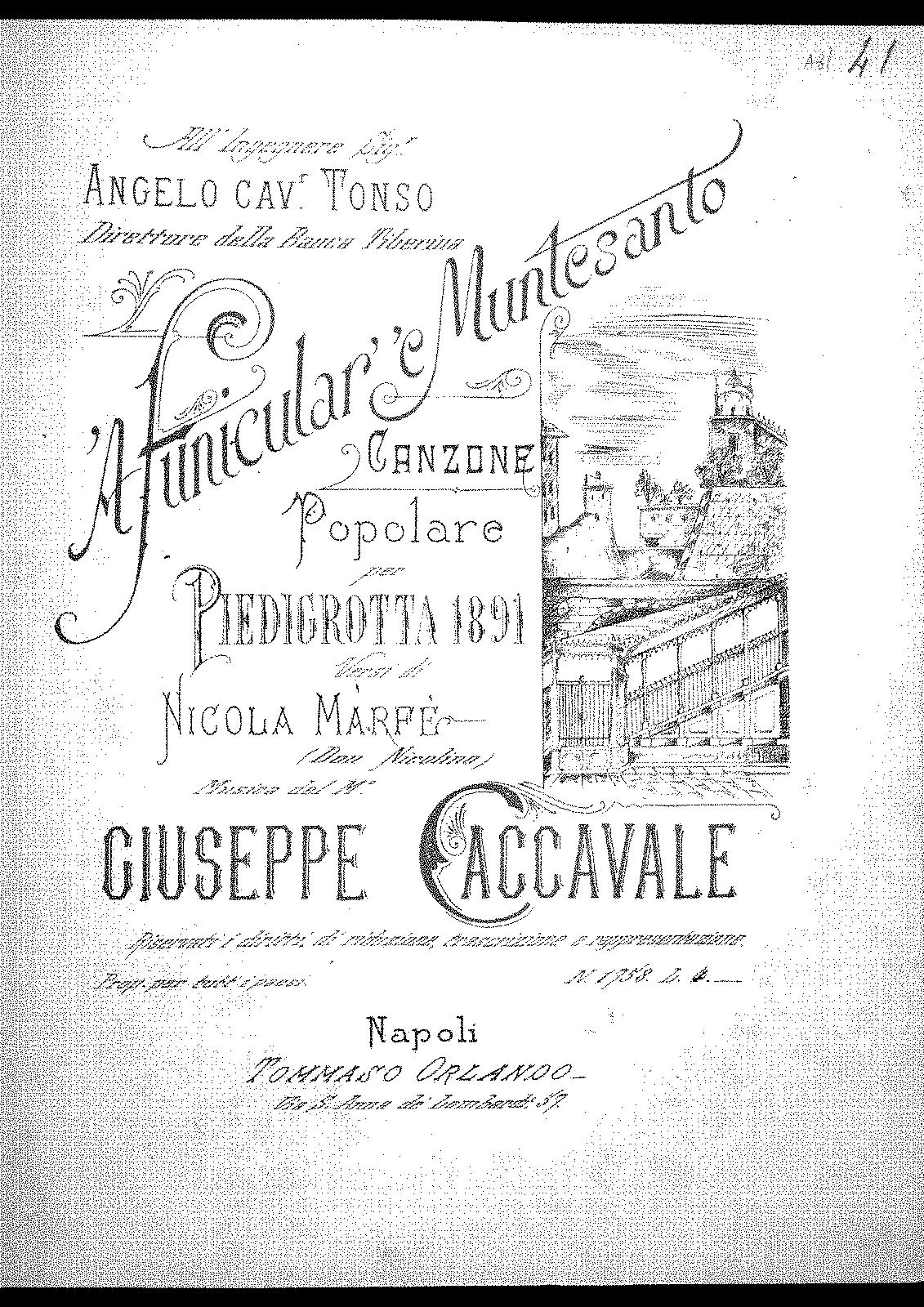A funicular''e Muntesanto (Caccavale, Giuseppe) - IMSLP/Petrucci