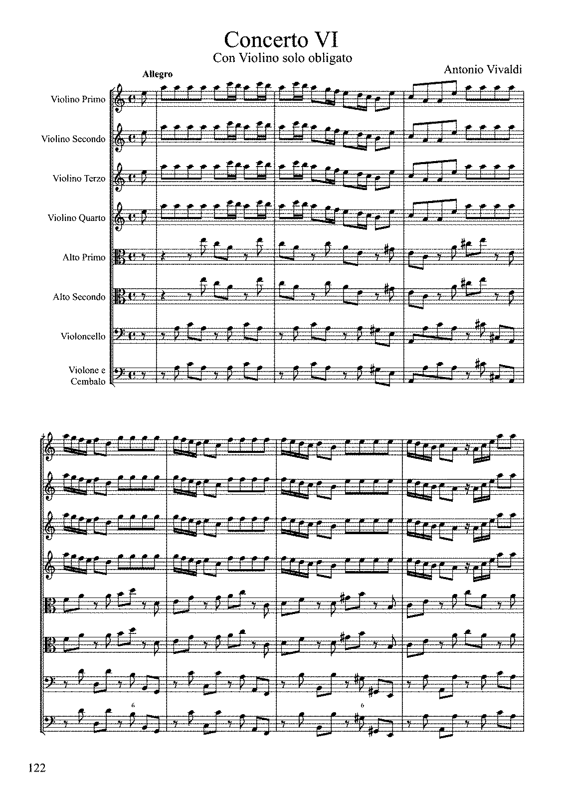 Vivaldi, op. 3 n. 6