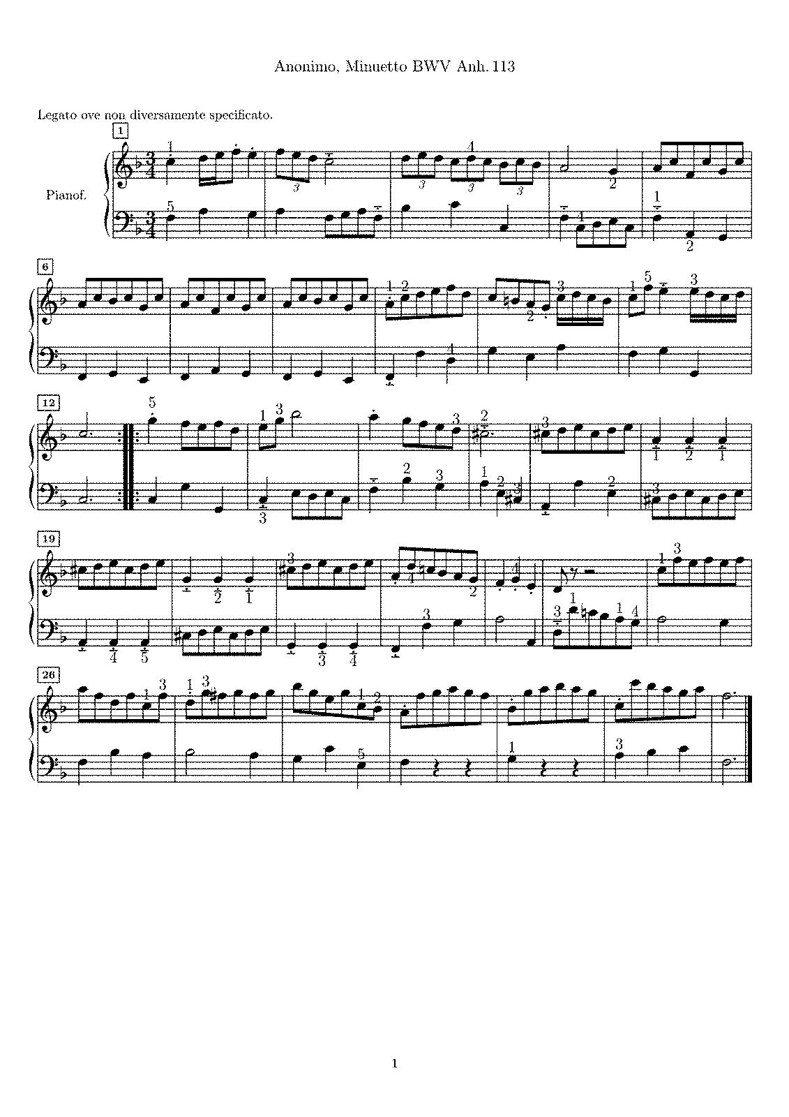 Notebooks for Anna Magdalena Bach (Bach, Johann Sebastian