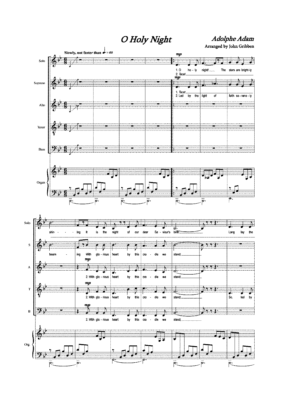 russian christmas music score pdf