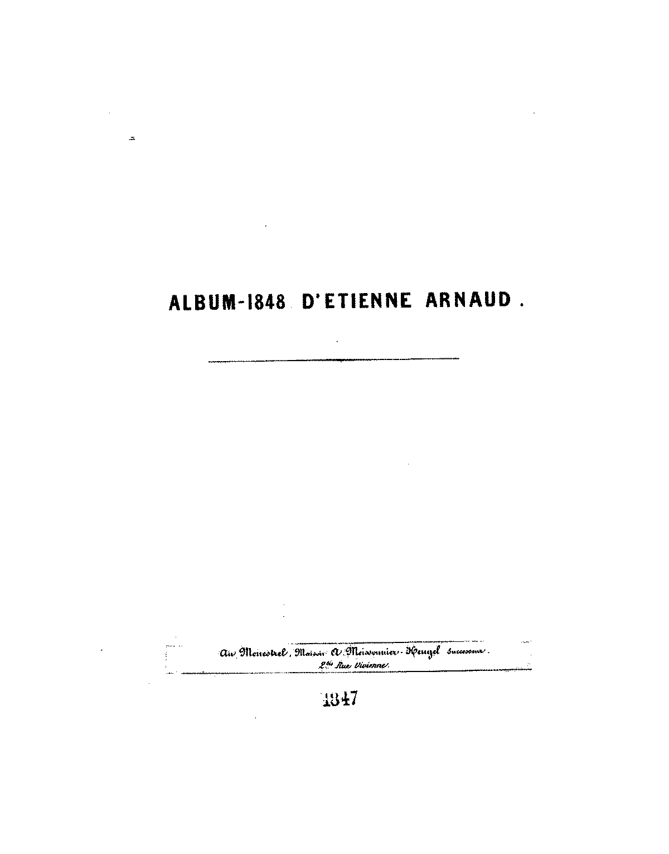 Vous avez perdu (Arnaud, Étienne) - IMSLP/Petrucci Music Library