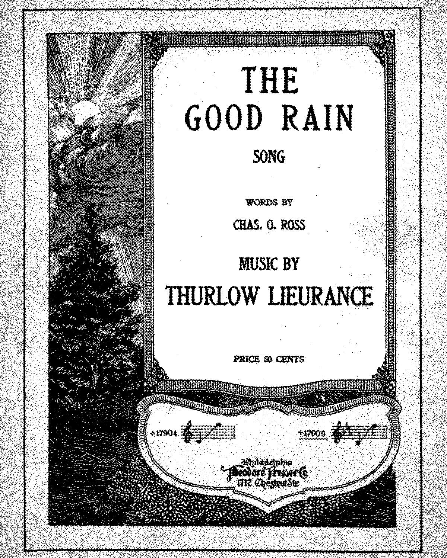 The Good Rain (Lieurance, Thurlow) - IMSLP/Petrucci Music Library