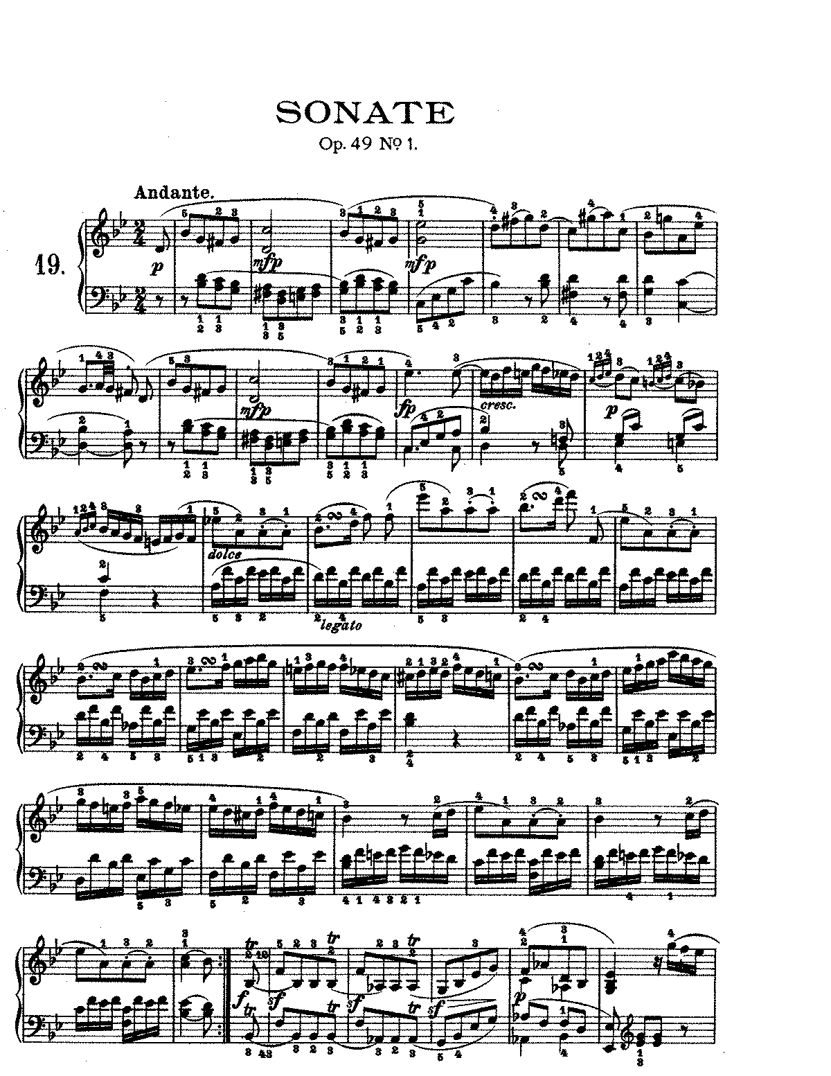 Beethoven Pathetique 2nd Movement Download