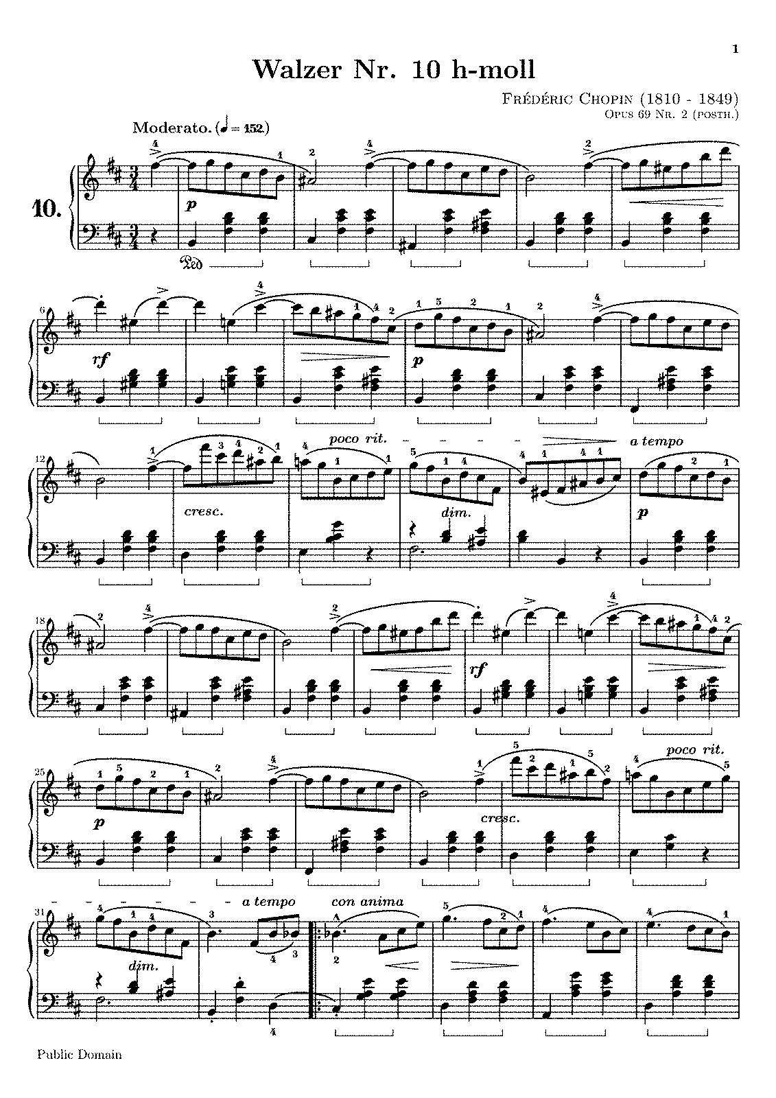 Chopin Waltz Minor Posthumous Pdf Editor - solidcrise