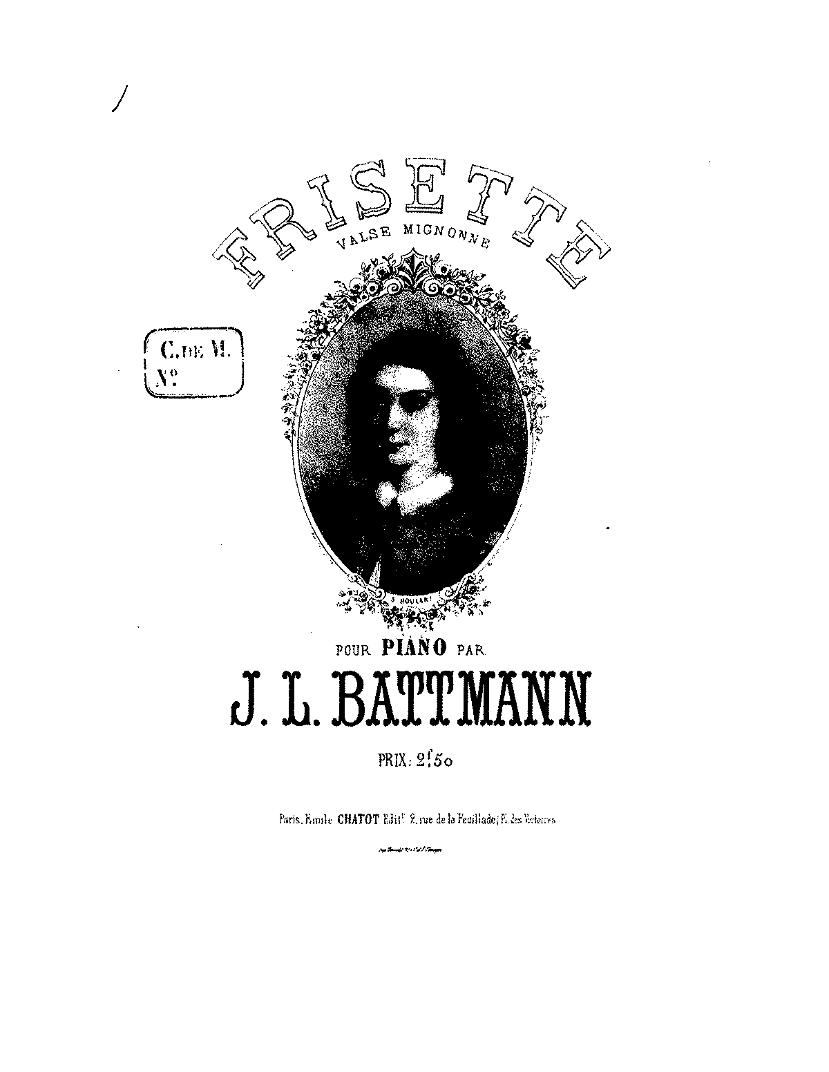 Frisette (Battmann, Jacques-Louis) - IMSLP/Petrucci Music Library