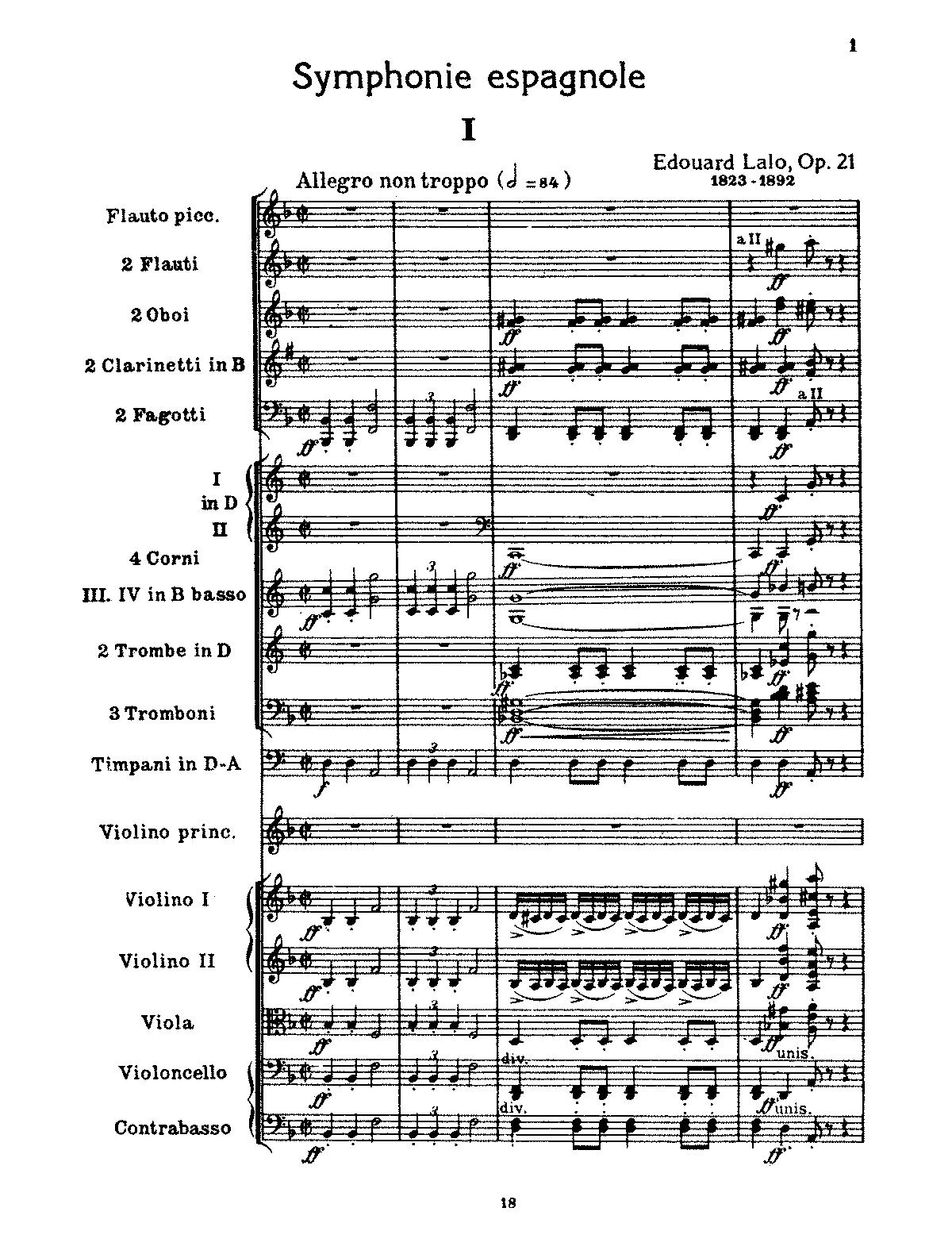 Lalo, op. 21