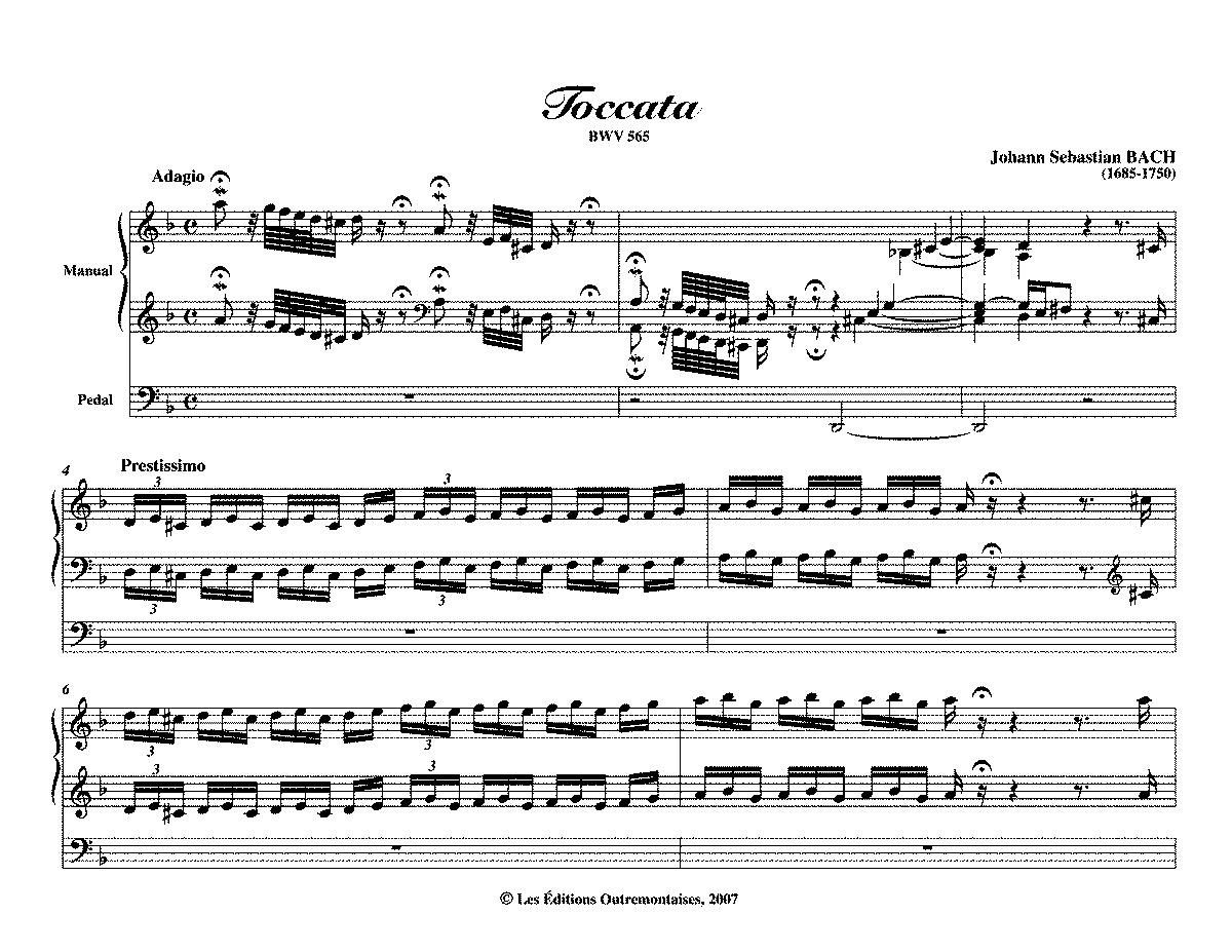 Abertura e Toccata - Clarinet