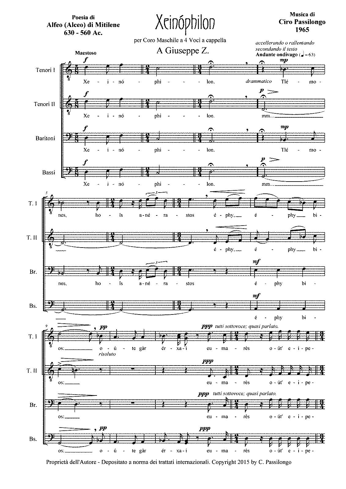 File:PMLP630246-Xeinophilon per Petrucci pdf - IMSLP/Petrucci Music