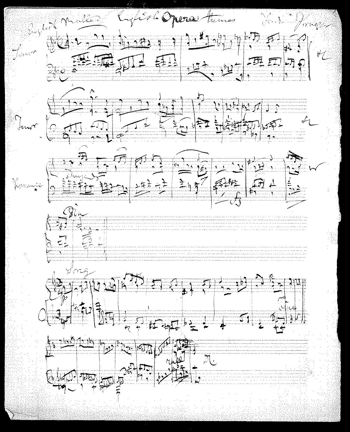 English Opera Themes (Praeger, Ferdinand) - IMSLP: Free