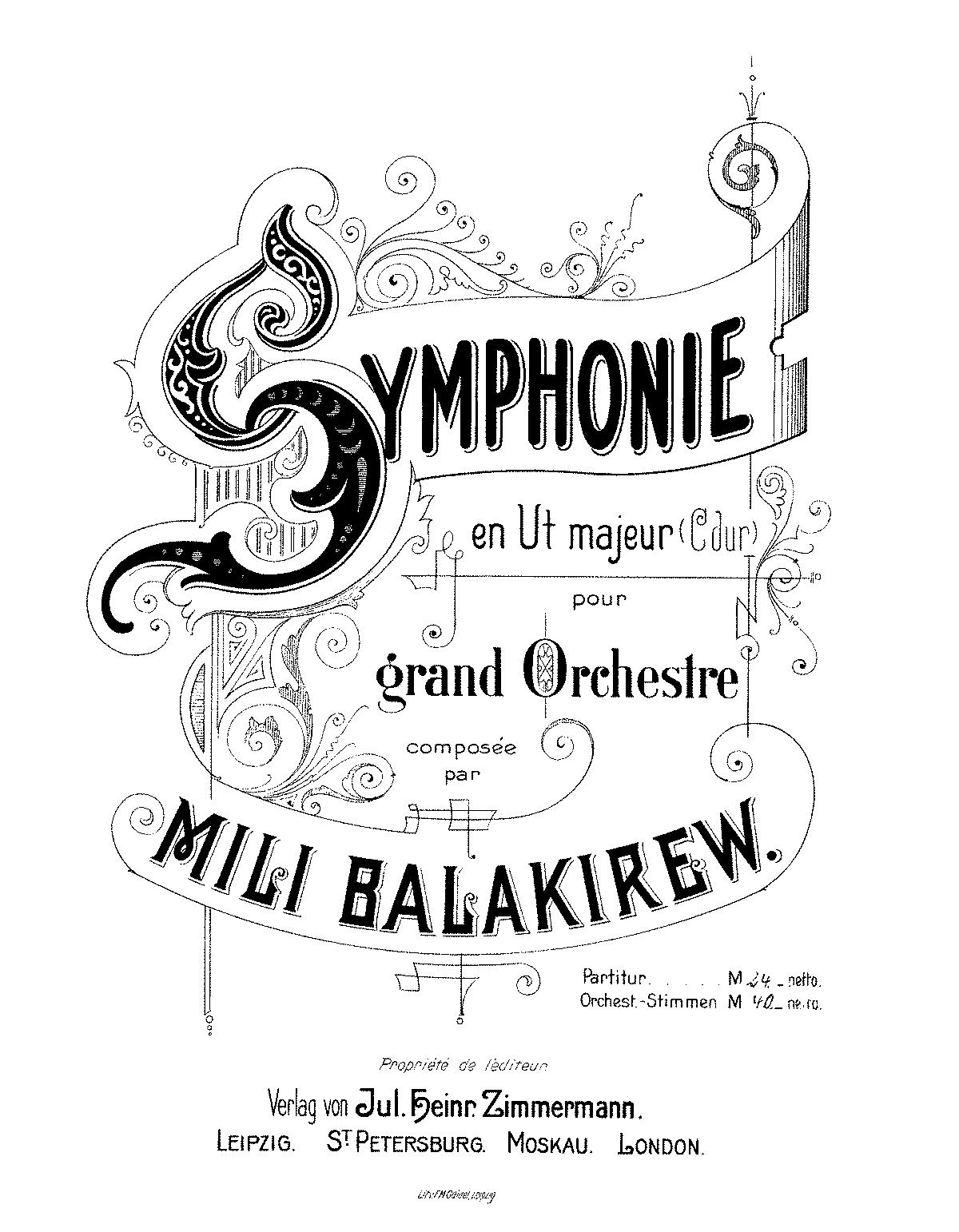 MB, 1a Sinfonia