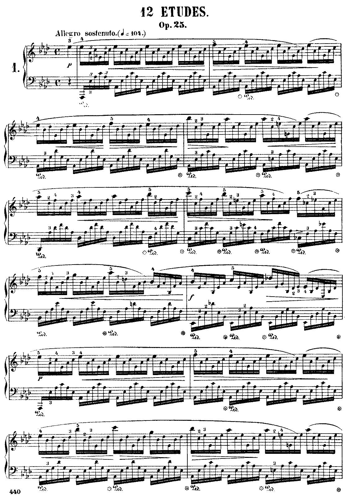 op. 25 n. 1