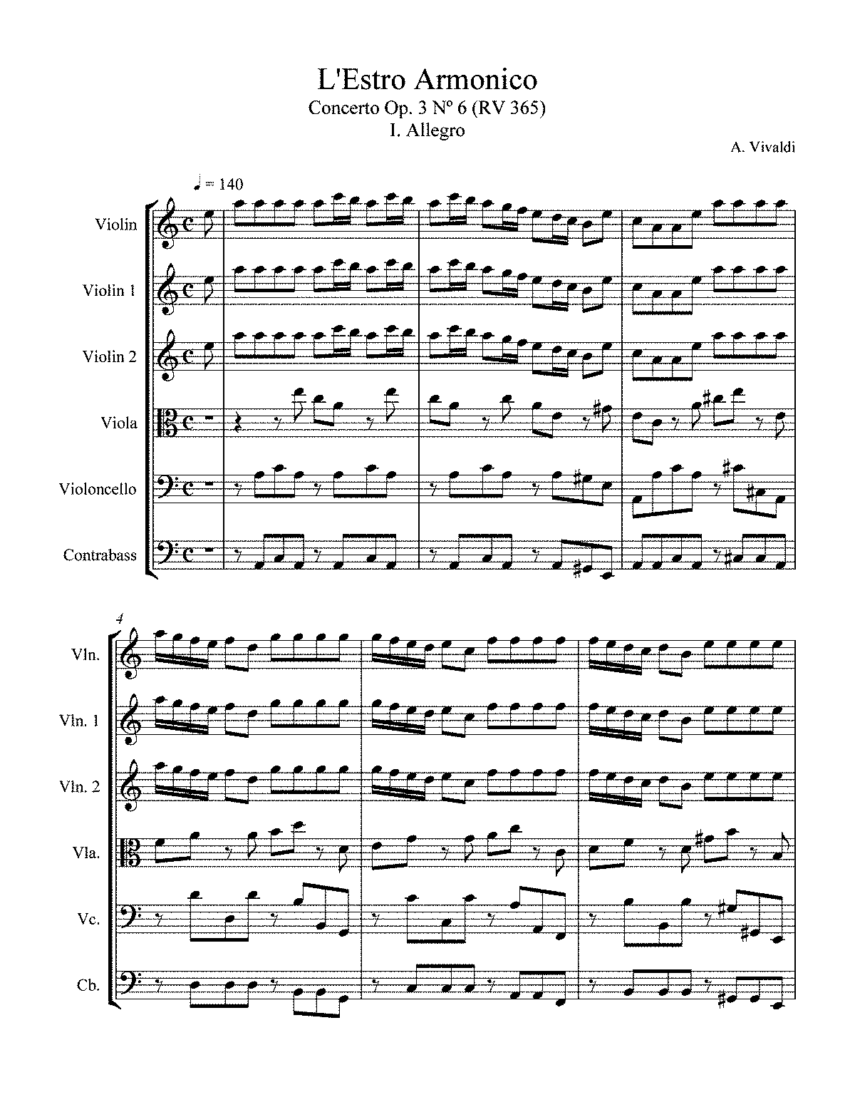 Bach Suzuki Violin